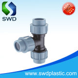 PP Compression Fittings Equal Tee