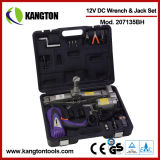 Set of 12V Car Electric Jack & Electric Impact Wrench