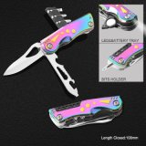 Multi Function Pocket Knife with Colorful Handle (#6211)