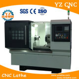 Mini CNC Lathe Milling Machine with Power Turret