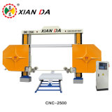 Xianda CNC-2500 CNC Diamond Wire Saw Stone Cutting Machine for Marble Granite Cutting