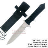 Fixed Blade Hunting Knives Tactical Knives Army Survival Knife 26cm HK7842