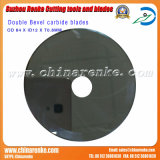 Tungsten Carbide Cutter Blade for Cutting Plastic and Rubber
