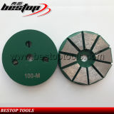 100# Medium Metal Back Concrete Diamond Grinding and Polishing Disc