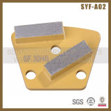 Diamond Trapezoid Metal Bone Grinding Disc for Concrete Grinder
