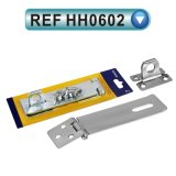 Steel Safety Hasps Staple and Hasp Door Hardware (HH0602)