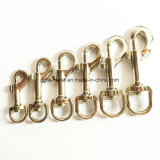 Hot Sale Zinc Alloy Pet Swivel Snap Hook for Leash Collar Bag (Hsg0022, 0023)