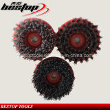 Round Antique Abrasive Brush for Arm Polishing Machine