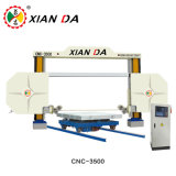 CNC Diamond Mono Wire Saw Stone Cutting Machine for Block Squaring