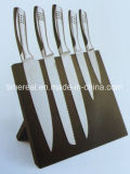 Stainless Steel Kitchen Knives Set with Painting No. Fj-0059
