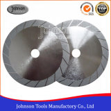105-300mm Turbo Wide Electroplated Diamond Saw Blades for Marble and Granite Cutting