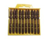 10PCS Pneumatic Double Philips Screwdriver Bits Set (JL-SBPP10)