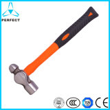 Ball Hammer with Plastic Coating Fibreglass Handle
