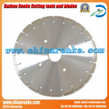 Laser Diamond Saw Blades for Cutting Concrete with Metal Bar