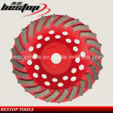 Segmented Diamond Grinding Cup Wheel for Concrete Polishing