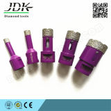 Jdk Reinforced Vacuum Brazed Diamond Core Drilling Bits