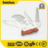 Detachable Wooden Handle Multi Knives with Saw