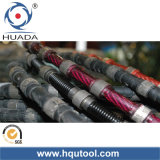Reinforced Concrete Cutting Wire Saw. Construction Steel Cutting, Bridge Cutting