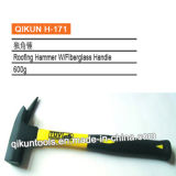 H-171 Construction Hardware Hand Tools Roofing Hammer with Fiberglass Handle