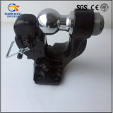 High Quality Regular Black Pintle Tow Hook with Ball