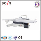 Woodworking Tool Manual Sliding Table Panel Saw with Ce 0-45 Degree