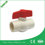 Hot Selling Plastic Handle Building Construction Material CPVC Ball Valve for Water Supply