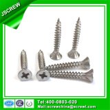 6mm Stainless Steel Countersunk Head Self Tapping Screw for Building