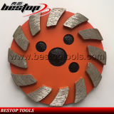 Turbo Concrete Floor Sintered Grinding Sharpening Diamond Disc