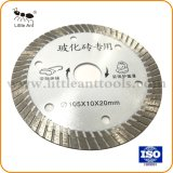 Hot Pressed 105mm/ 4 Inch Diamond Saw Blade for Marble Granite Ceramic Tile
