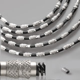 Vacuum Brazed Diamond Wire and Beads-Diamond Beads for Wire Saw Cutting Stone