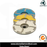 100mm Resin Filled Diamond Cup Grinding Wheel for Marble Polishing