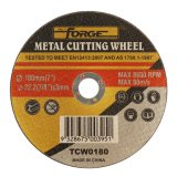 180*3*22.2mm Flat Type Cut-off Disc Cutting Wheel for Metal