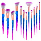New Arrival 12PCS Diamond Shape Foundation Makeup Brush