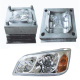 Auto Car Light Head Lamp Guide Plastic Injection Mould