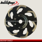 L Segmented Sintered Cup Wheel Diamond Concrete Grinding Tools