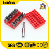 33 Piece Chrome Vanadium Steel Screwdriver Bit Set with Plastic Storage Case
