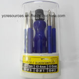 7-in-1 Screwdriver Set/Hardware Tools, Carbon Steel