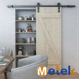 Carbon Steel Sliding Barn Door Hardware Accessory Tracks System Hardware Parts Fittings