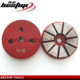 50# Medium Metal Back 3 Holes Concrete Grinding Diamond Disc