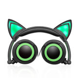 Glowing Over Ear Headband Private Label Custom Logo Headphones