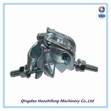Drop Forged Scaffolding Swivel Clamp by Galvanized Surface