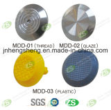 Hot-Sale Building Material Recycled Plastic Anti-Slip Stainless Steel Stud Tactile on Floor