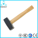Germany Type Wooden Handle Stone Hammer