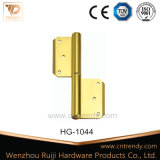 Door Accessories Flag Design Competitive Furniture Brass Door Hinge (HG-1044)
