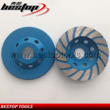 4inch 100mm Turbo Cup Buffing Wheel with 22.23mm Connection Hole