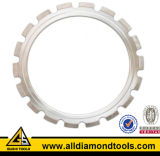 Gushi 350mm Arix Diamond Ring Saw Blade for Concrete Cutting