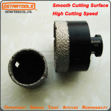 M14 Vacuum Brazed Dry Tile Diamond Core Drill for Granite