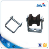 D Iron Secondary Bracket for Insulator Pole Line Hardware