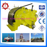 Pneumatic Power Source and Cranes Application Small Winch with Remote Control