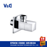 Brass Angle Valve with High Polishing (VG14.90011)